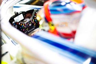 Robert Kubica, Williams Martini Racing, steering wheel detail