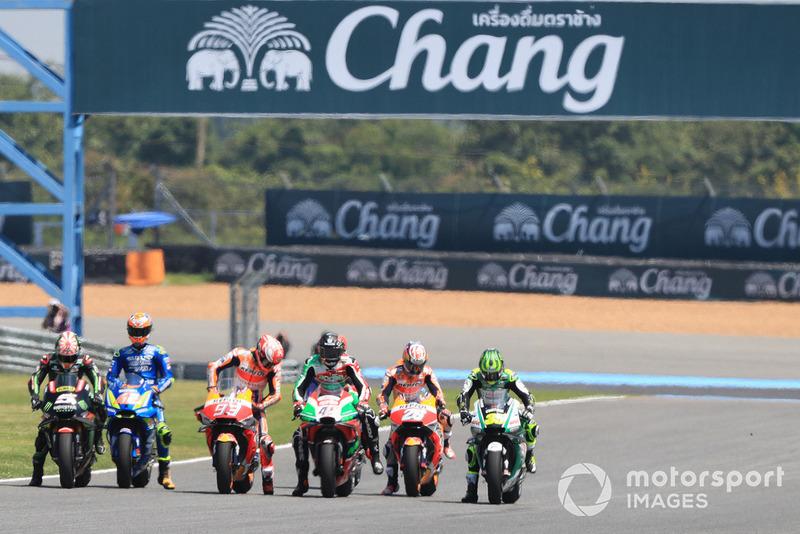 MotoGP practice