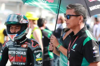Adam Norrodin, Petronas Sprinta Racing, Razlan Razali