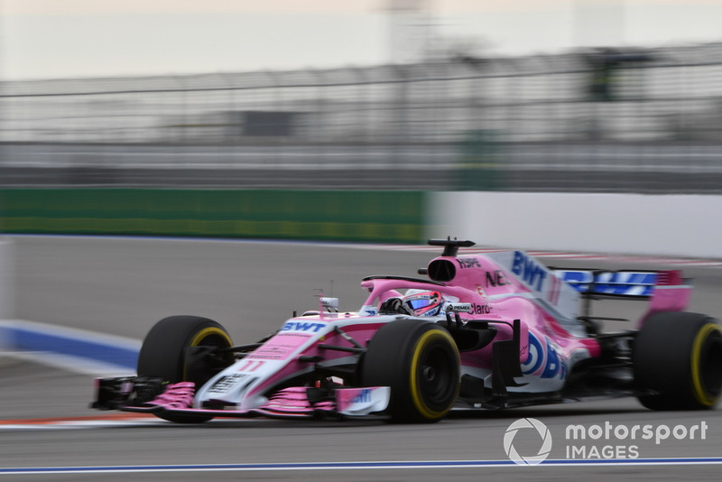 8: Серхіо Перес, Racing Point Force India VJM11, 1'33.563