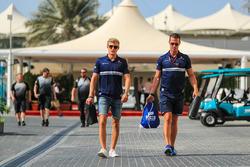 Marcus Ericsson, Sauber ve Alex Elgh, Antrenör
