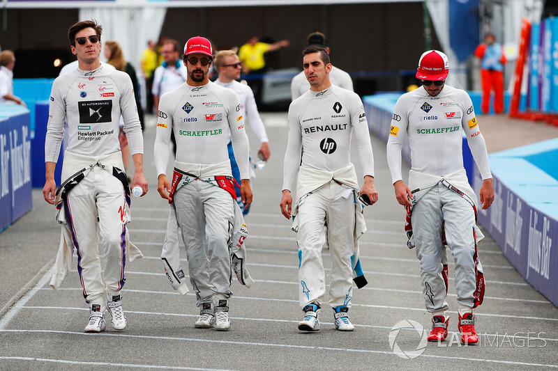 Alex Lynn, DS Virgin Racing,Lucas di Grassi, Audi Sport ABT Schaeffler, Sébastien Buemi, Renault e.D