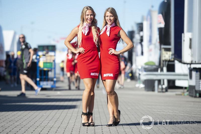 Rajtrácslányok - MotoGP 2018 - Holland Nagydíj