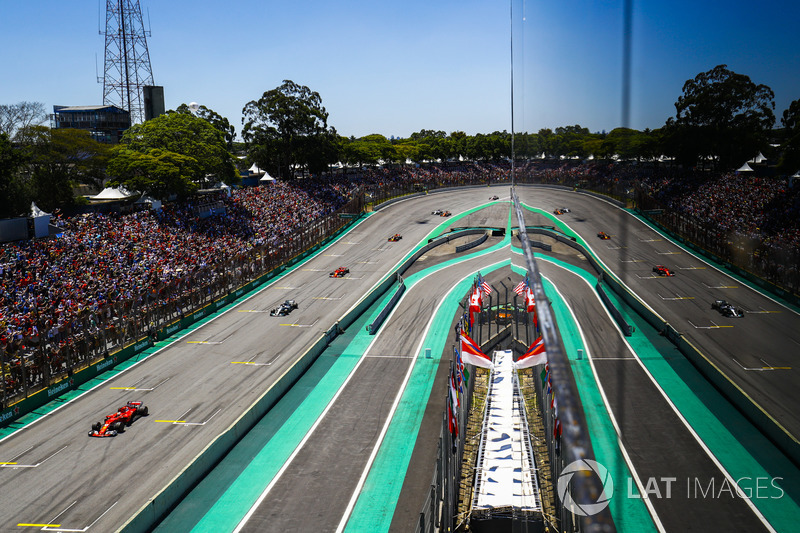 Sebastian Vettel, Ferrari SF70H, Valtteri Bottas, Mercedes AMG F1 W08, Kimi Raikkonen, Ferrari SF70H, Max Verstappen, Red Bull Racing RB13, Fernando Alonso, McLaren MCL32, Felipe Massa, Williams FW40
