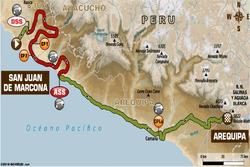 Етап 5: Сан-Хуан-де-Маркона - Арекіпа