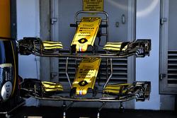Morro y alerón delantero del Renault Sport F1 Team R.S. 18