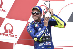 Podium : le deuxième, Valentino Rossi, Yamaha Factory Racing