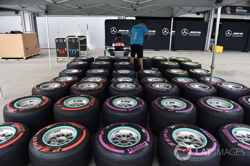 Mekanik Mercedes AMG F1
