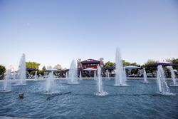 Fountain, scenic view