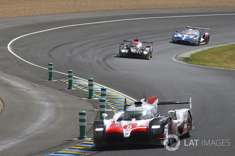 #8 Toyota Gazoo Racing Toyota TS050: Sébastien Buemi, Kazuki Nakajima, Fernando Alonso, Jose Maria Lopez, Anthony Davidson