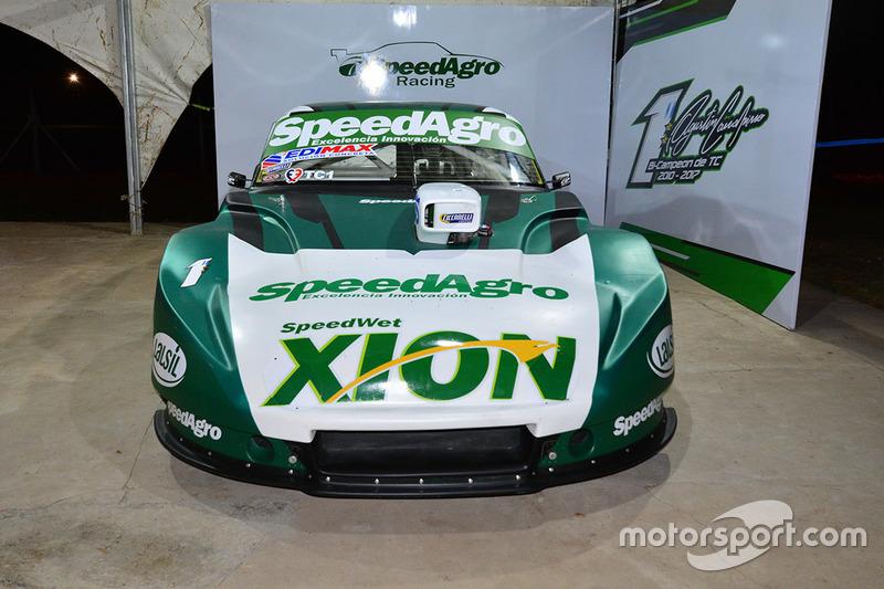 Presentación Chevrolet de Agustín Canapino
