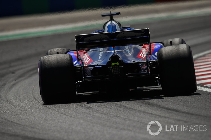 Брендон Хартлі, Toro Rosso STR13