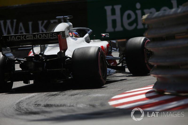 18. Romain Grosjean, Haas F1 Team VF-18 (termasuk penalti tiga grid)