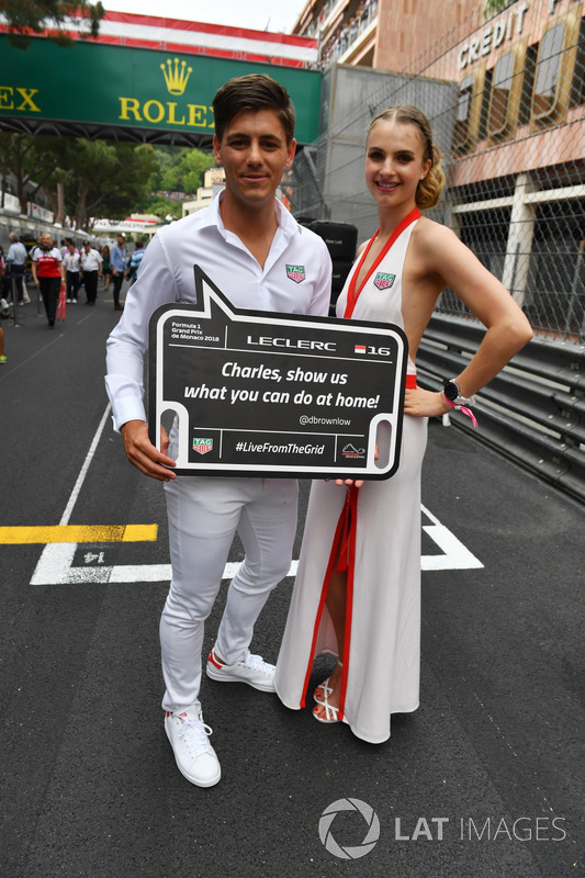 Grid girl e grid boy TAG Heuer