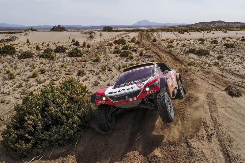 8. #319 Peugeot: Khalid Al-Qassimi, Xavier Panseri