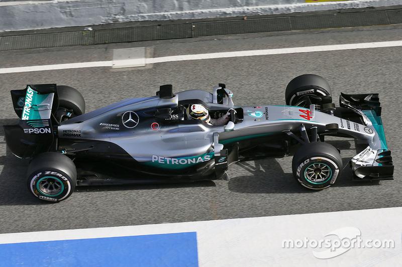 Mercedes F1 W07