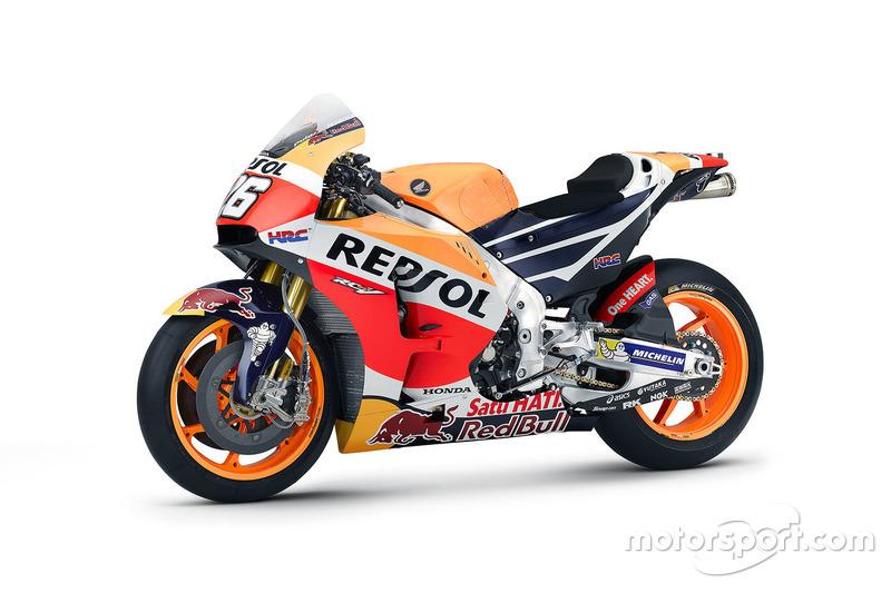 Honda RC213V 2016 von Dani Pedrosa, Repsol Honda Team