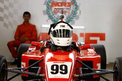 Rahul Rangaswamy helmet