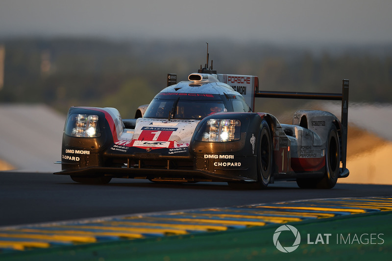 Ausfall LMP1: #1 Porsche Team, Porsche 919 Hybrid