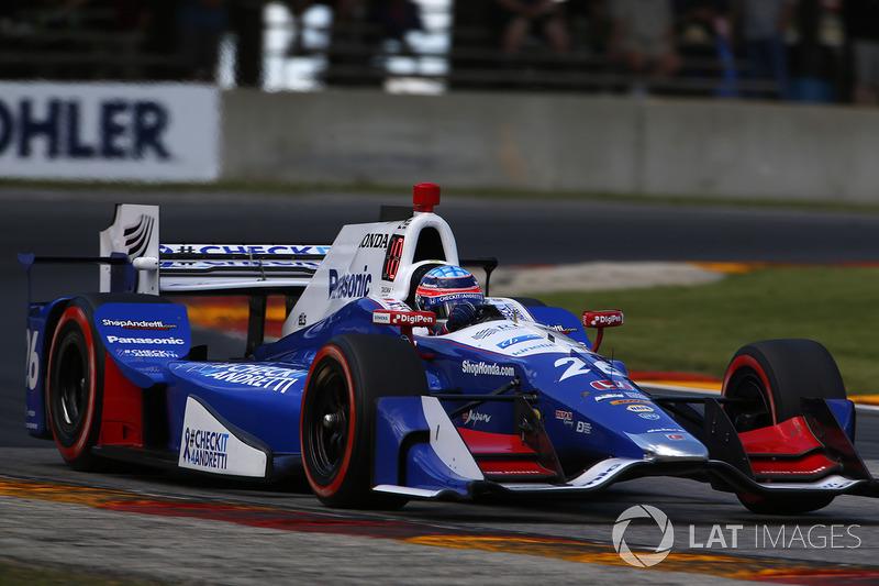 Такума Сато, Andretti Autosport (IndyCar, 8-е место в общем зачете, 441 очко, победа в Indy 500)