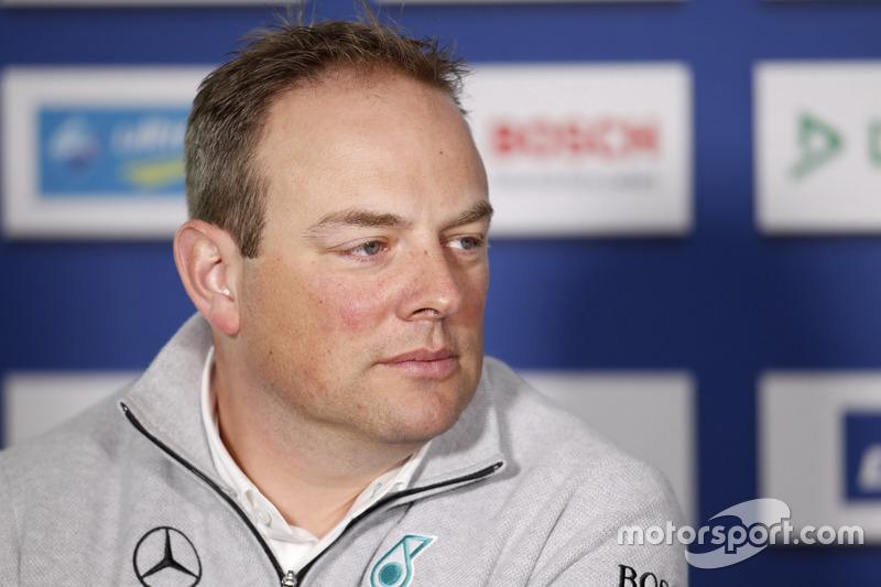 Ullrich Fritz, Mercedes-Teamchef