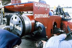 La trasera del Brabham BT46B Alfa Romeo de Niki Lauda