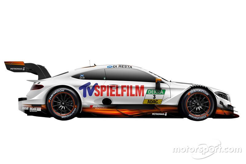 #3: Paul di Resta, Mercedes-AMG Team HWA, Mercedes-AMG C63 DTM