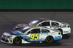 Michael McDowell, Leavine Family Racing Chevrolet, Ryan Newman, Richard Childress Racing Chevrolet