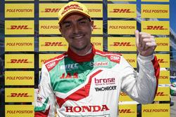 Polesitter Norbert Michelisz, Honda Racing Team JAS, Honda Civic WTCC