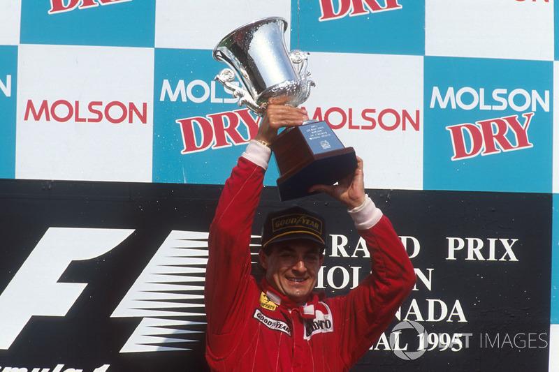 Podyum: Yarış galibi Jean Alesi, Ferrari