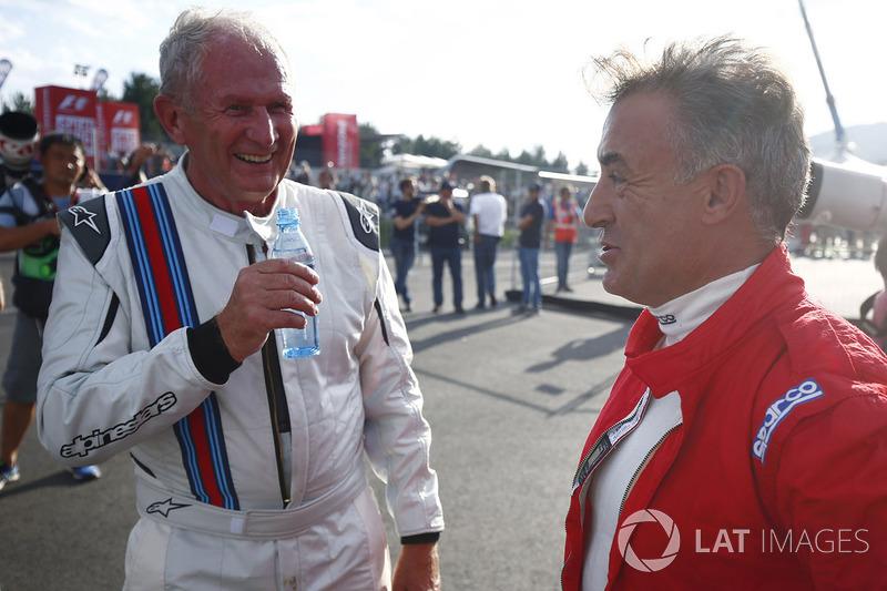Helmut Marko und Jean Alesi