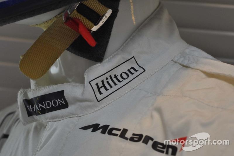 Партнерство McLaren і Hilton триває з 2005 року