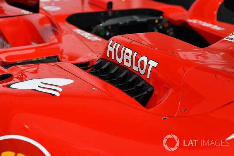 Ferrari SF70H, Aerodynamikteil, Detail