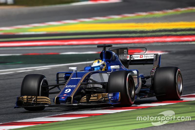 16: Маркус Эрикссон, Sauber C36
