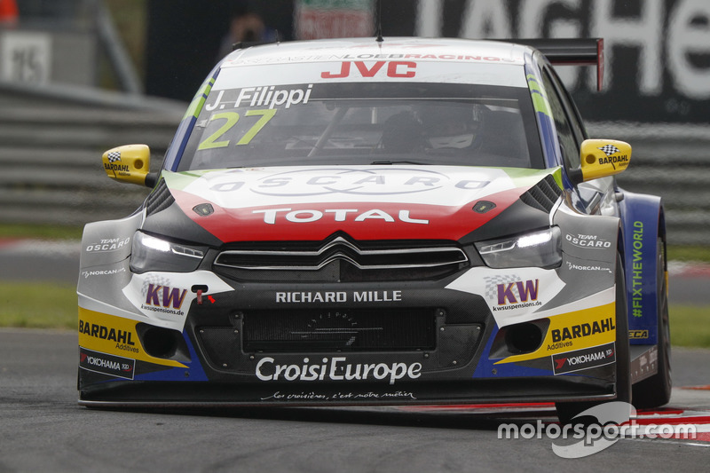 John Filippi, Sébastien Loeb Racing, Citroën C-Elysée WTCC