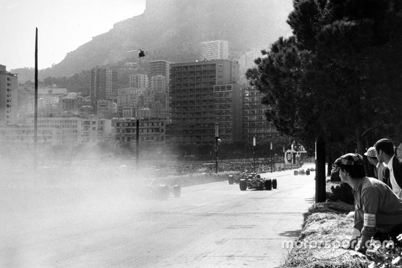 Lorenzo Bandini, Ferrari 312 kaza ve dumanlar