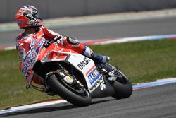 Andrea Dovizioso, Ducati Team, mit neuer Verkleidung