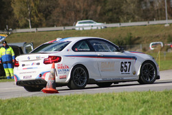 Albin Mächler, BMW M2, ACS, 2. Rennlauf, Pylone