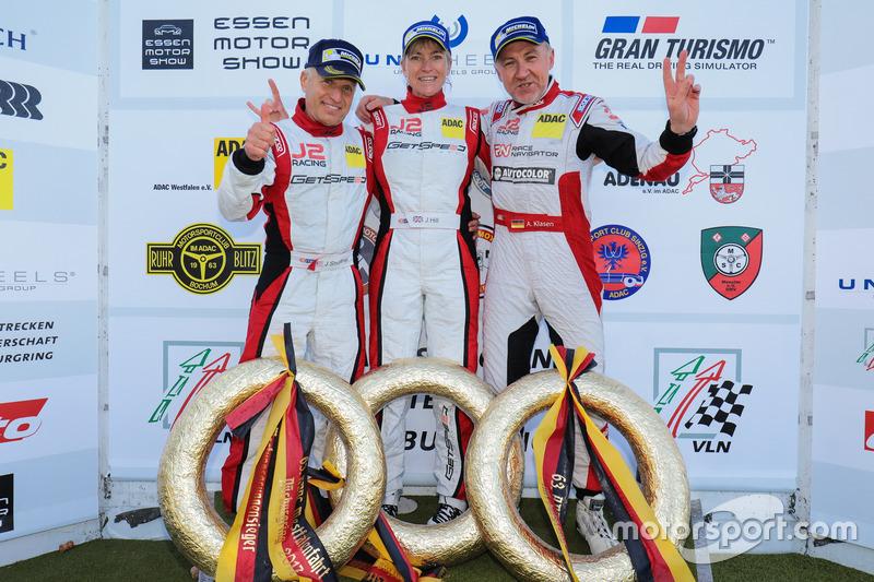 John Shoffner, Janine Hill, Arno Klasen, Porsche 911 GT3 Cup