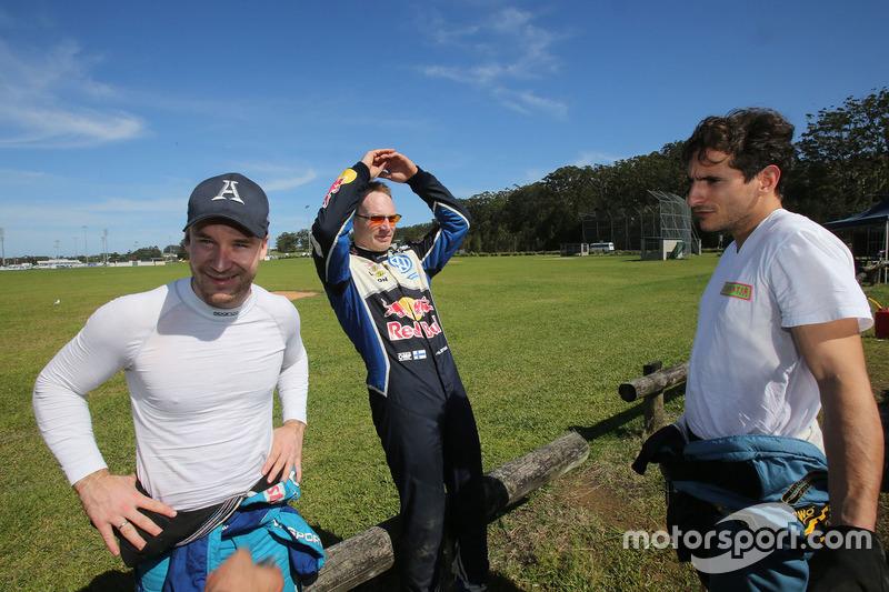 Mads Ostberg, M-Sport, Jari-Matti Latvala, Volkswagen Motorsport, Lorenzo Bertelli, Ford Fiesta WRC