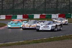 鈴鹿サウンド・オブ・エンジンで走行するグループCカー