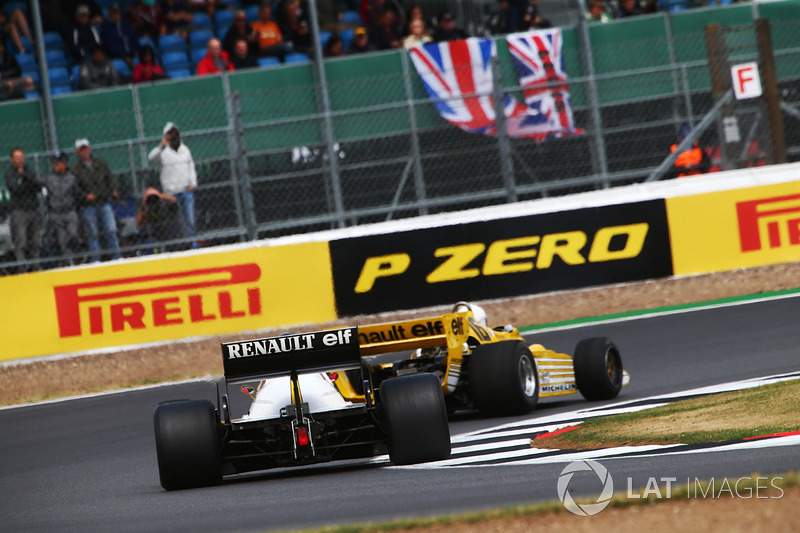 Renault Sport F1 Team F1 Historic, Рене Арну, Франк Монтані