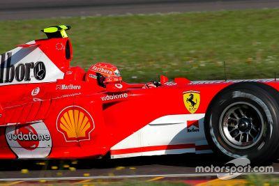 Test Ferrari: Valentino Rossi