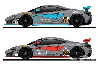 Compass360 Racing McLaren 570S GT4 unveil