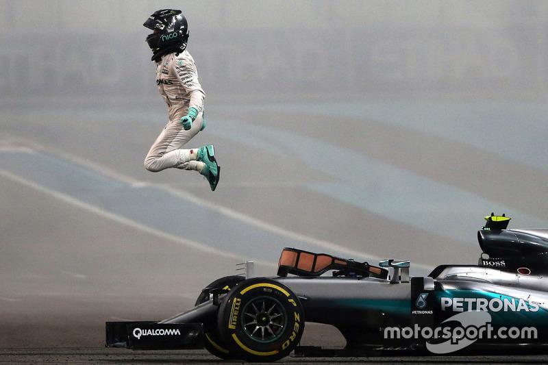 Campeón del munco Nico Rosberg, Mercedes AMG F1 W07 Hybrid