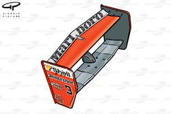 الجناح الخلفي لسيارة فيراري اف399