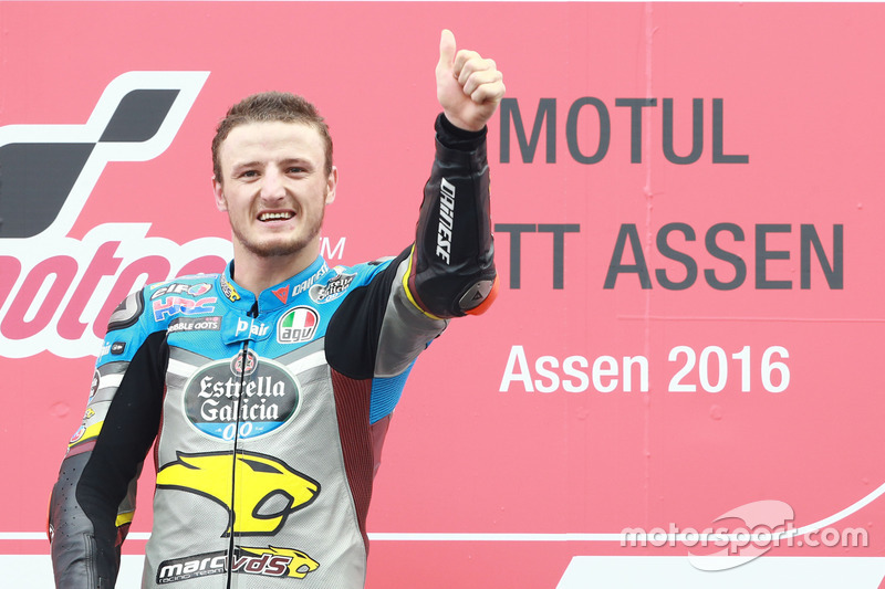 Podio: winner Jack Miller, Marc VDS Racing Honda