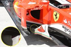 Ferrari SF16-H, Windabweiser