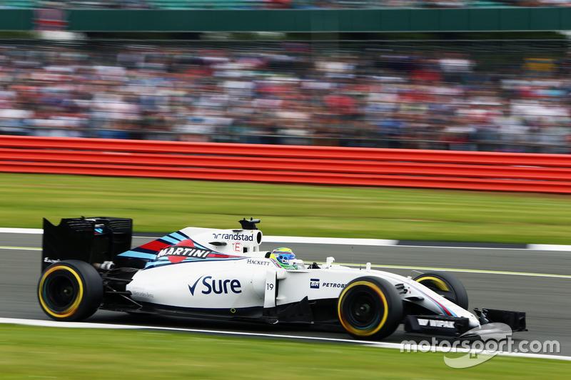 11. Felipe Massa, Williams FW38