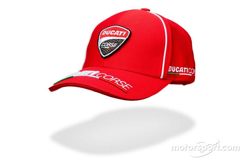 Casquette Ducati Corse 2016 rouge